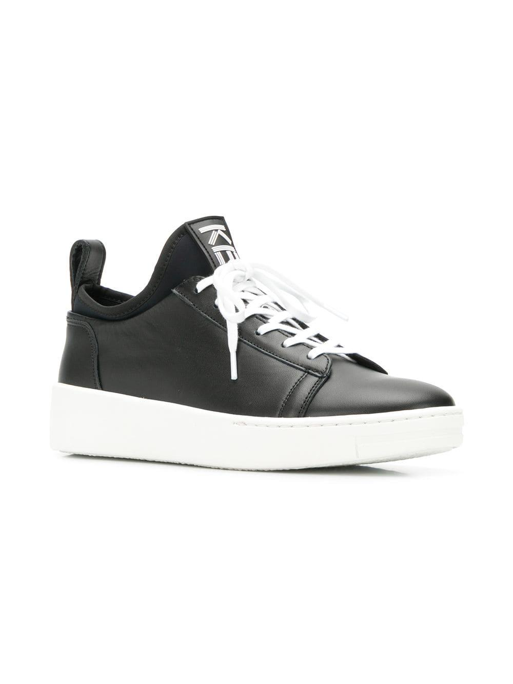 4e69b5054b14 Lyst - Kenzo Low-top Sneakers in Black
