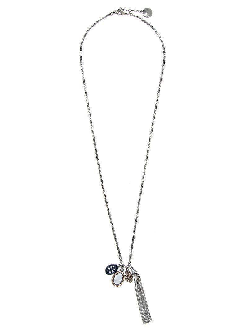 tassel pendant necklace - Metallic Camila Klein PiT2PEOnI