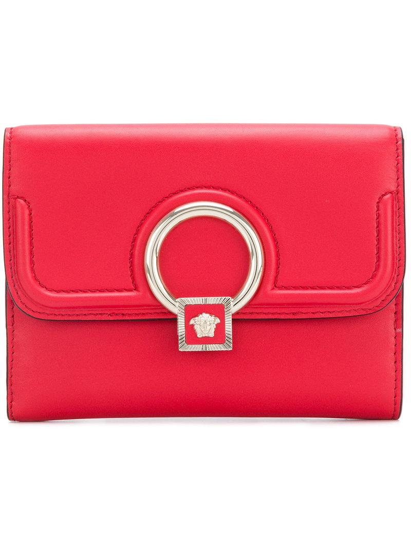 billfold purse - Red Versace LBU1P8wYN