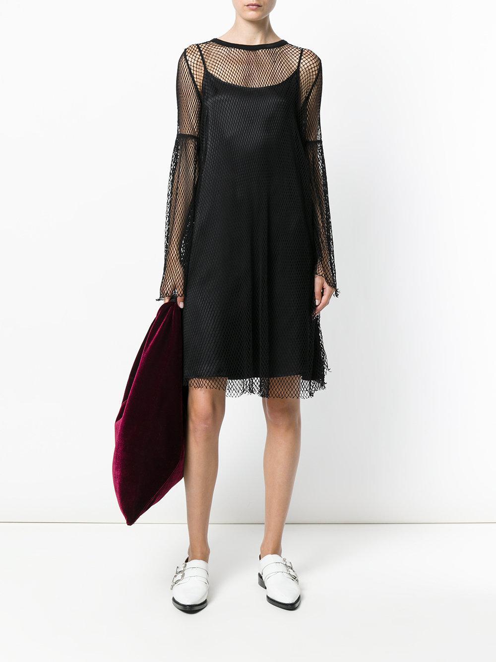 Black Mesh Dress Maison Martin Margiela DLaHV