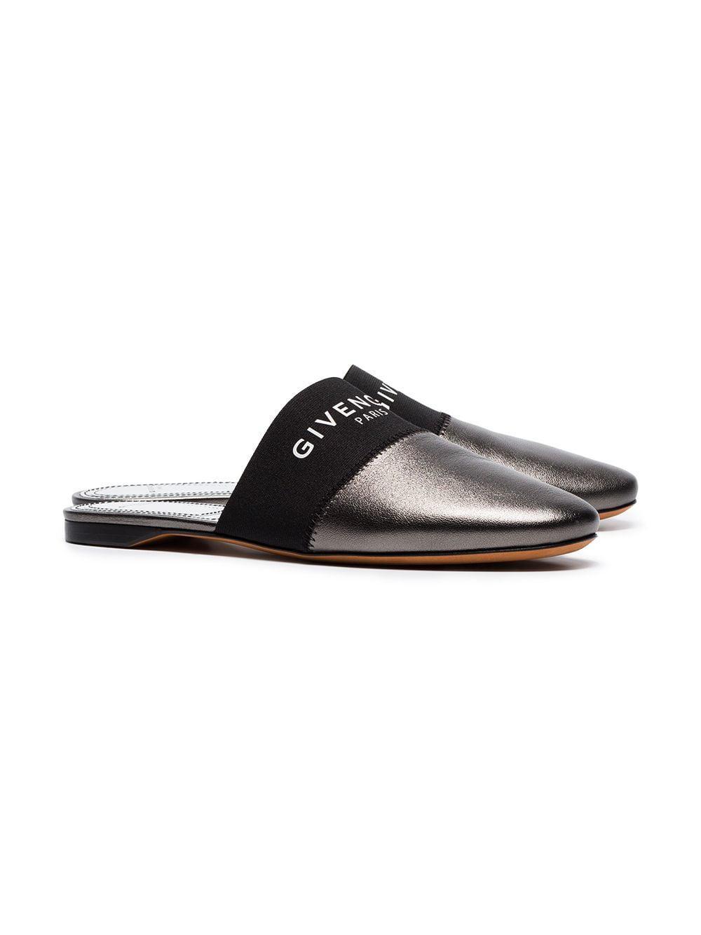 785ffa67ecb0 Givenchy - Multicolor Metallic Bedford Leather Slippers - Lyst. View  fullscreen