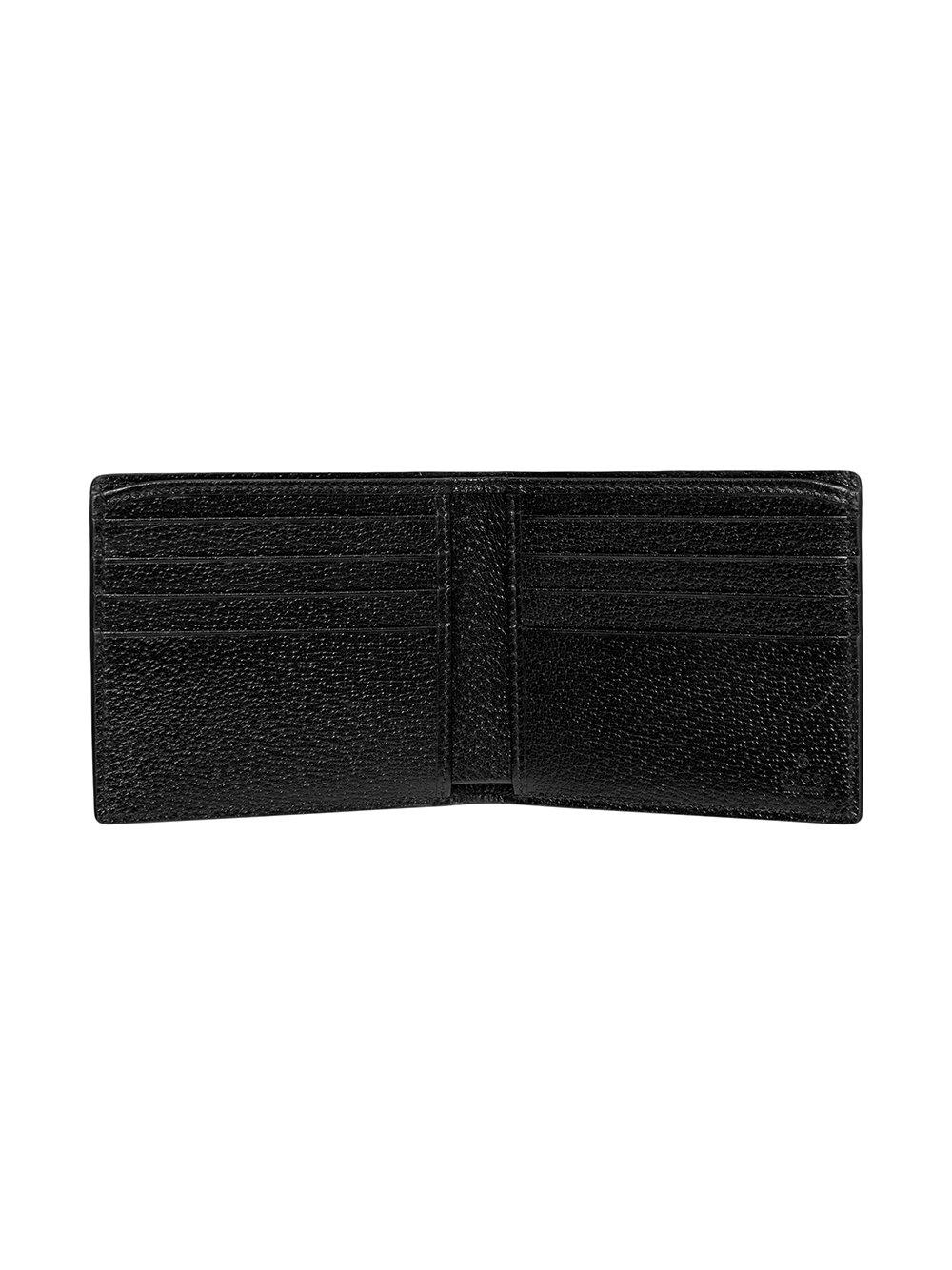 5529d7a6ac40 Gucci - Black Animalier Leather Wallet for Men - Lyst. View fullscreen