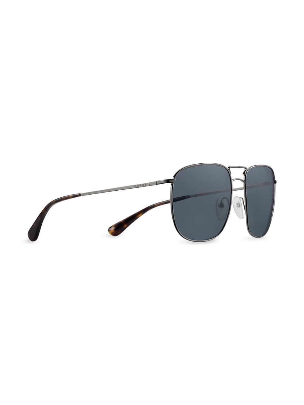 c101268e1fe49 Lyst - Prada Collection Sunglasses in Metallic for Men