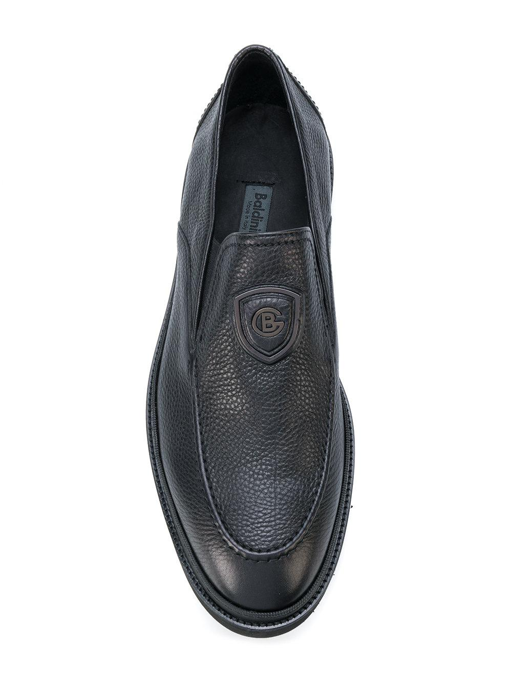 new styles d4f72 17dd6 baldinini-Black-Textured-Loafers.jpeg