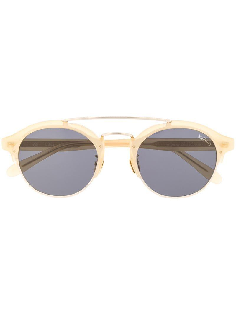 d683f1755064 Mulberry - Yellow Enyd Sunglasses - Lyst. View fullscreen