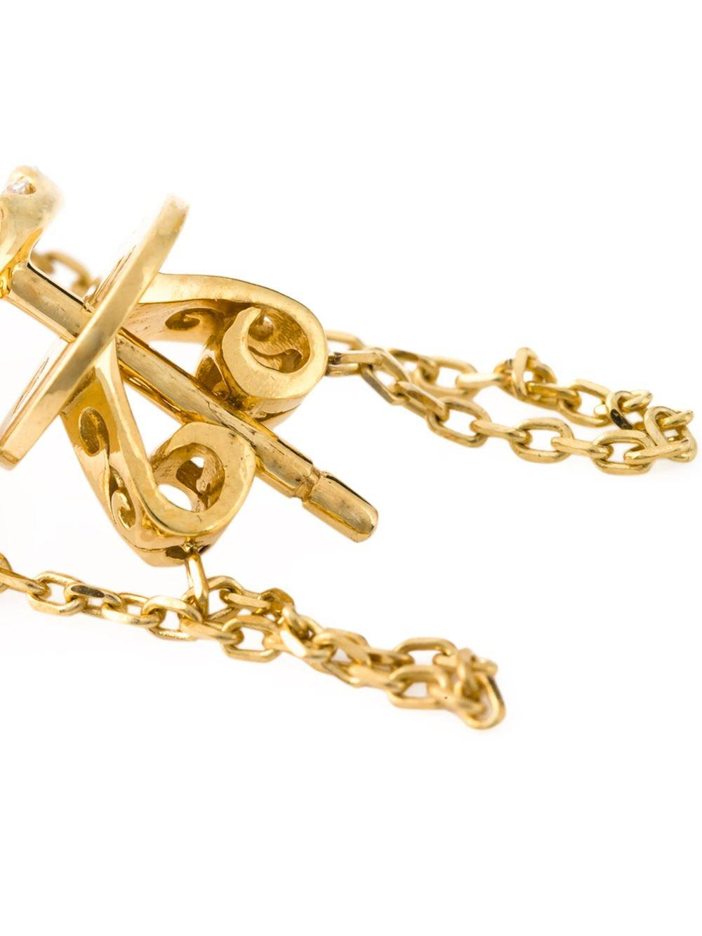 Eshvi April earrings - Metallic rVOHFcrO