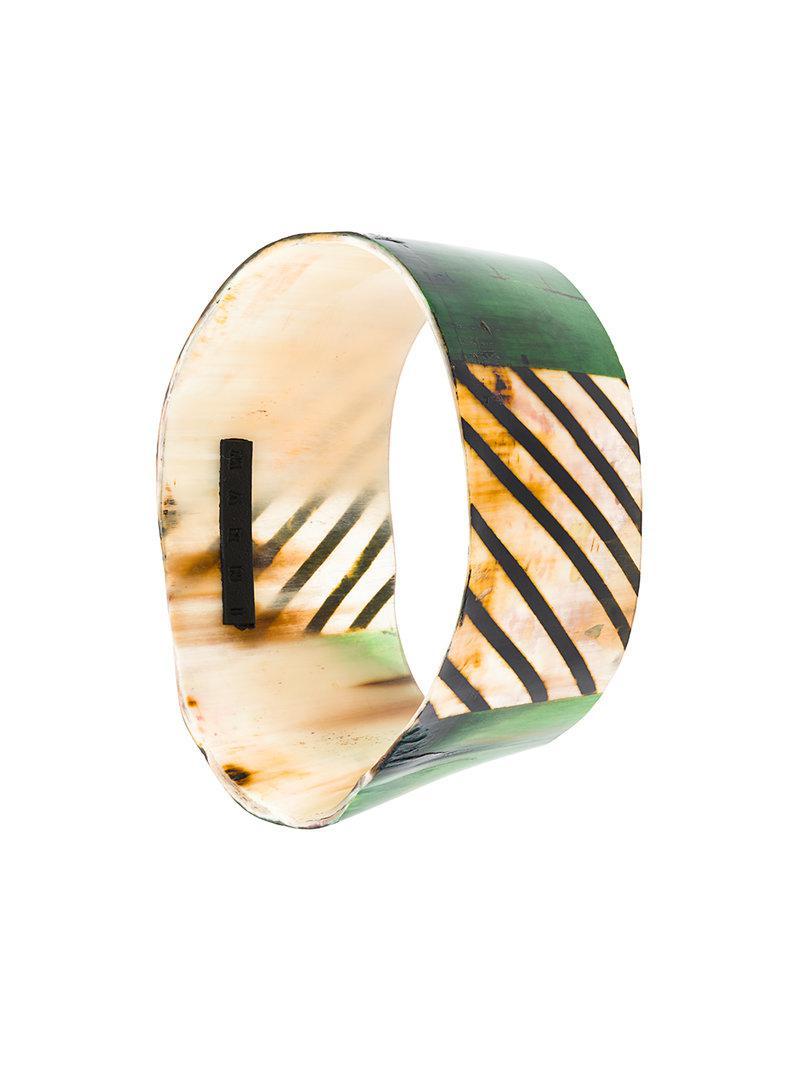 woven striped bracelet - Multicolour Marni oBtUvY5ChL