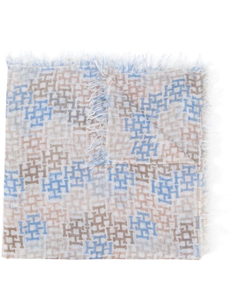 fringed scarf - Nude & Neutrals Hemisphere BnMaFvAa