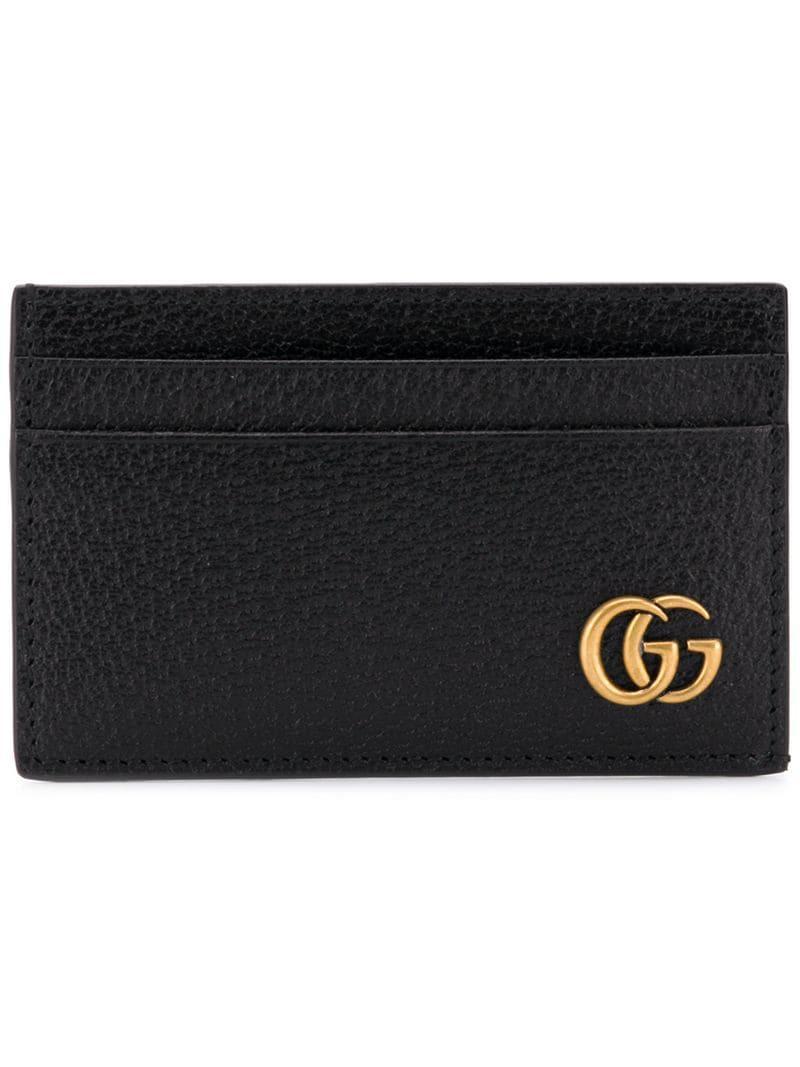 3fe4b1b19294b4 Lyst - Gucci GG Cardholder in Black for Men