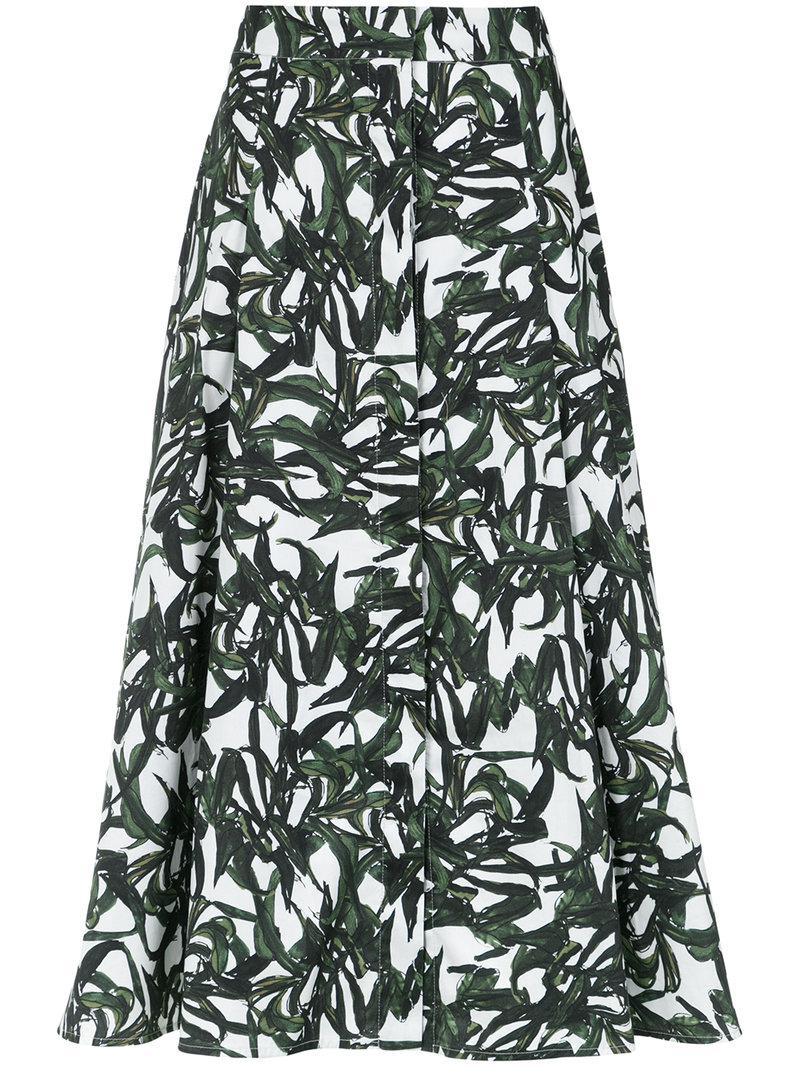 front pleat skirt - Unavailable Andrea Marques Cheap Original Latest Collections Online Cheapest Price Cheap Online Free Shipping 100% Authentic 63mHmUt
