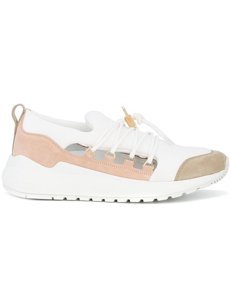 panelled sneakers - White Buscemi 5ssWK8ZGM