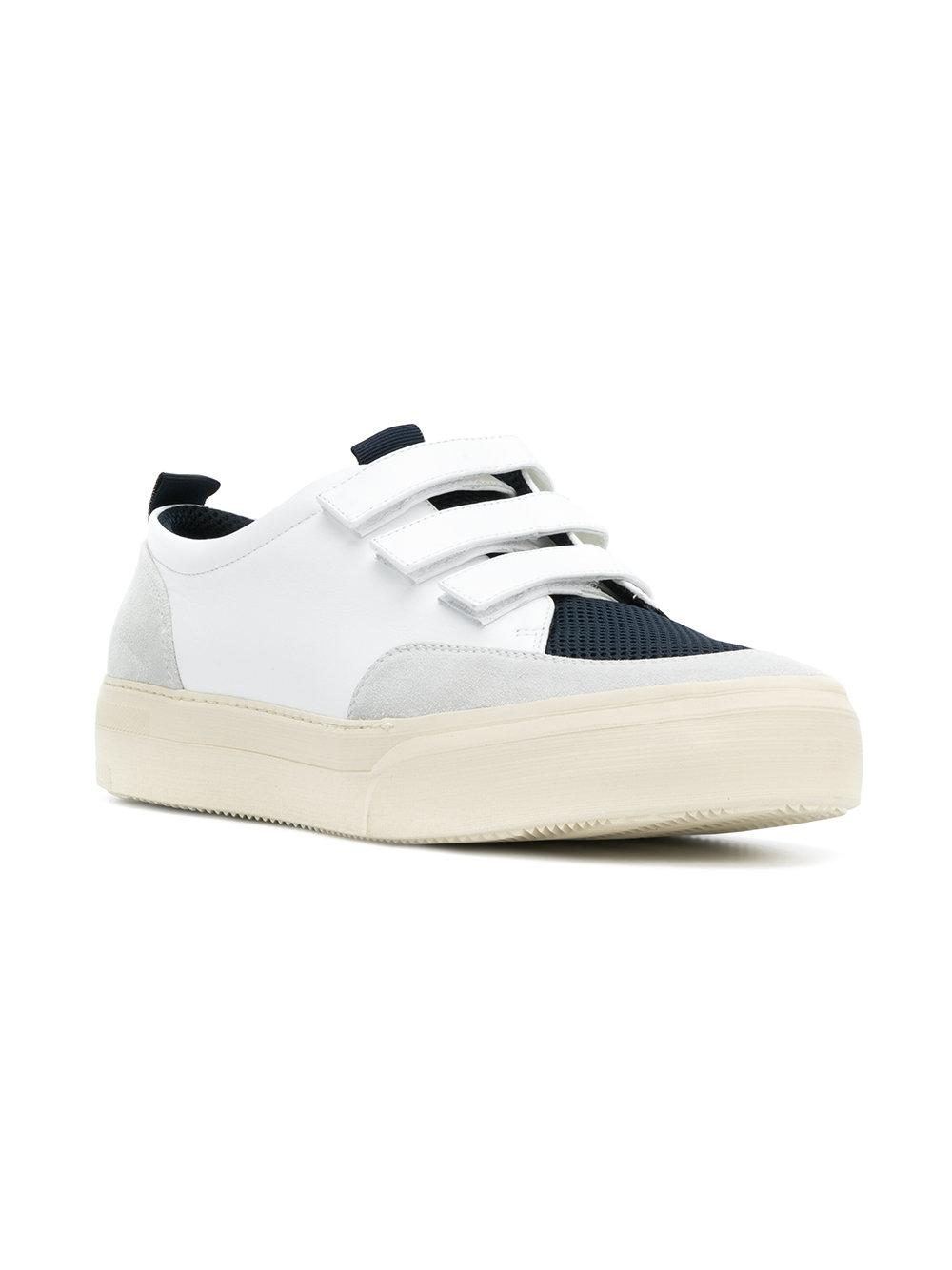SUNNEI Leather Low Trainers kffOmwGz