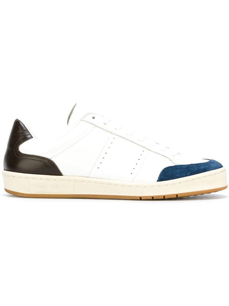 lace-up sneakers - White Umit Benan rDh0B84t
