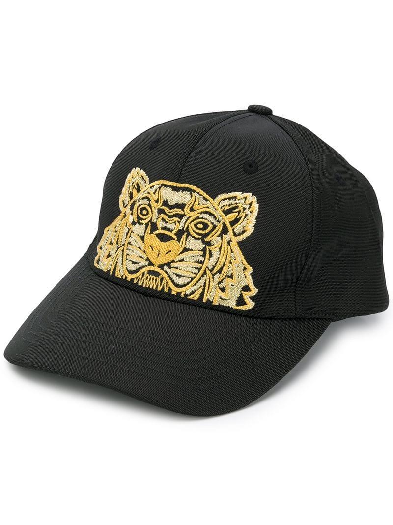 731d887e277 Lyst - KENZO Tiger Head Cap in Black for Men