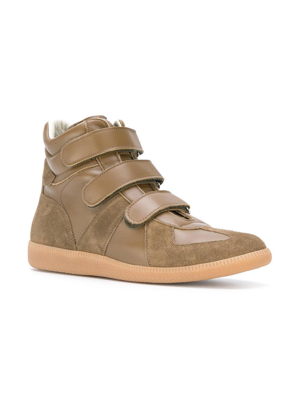 137c9beef0 Lyst - Maison Margiela Replica Multi-strap Sneakers in Natural for Men