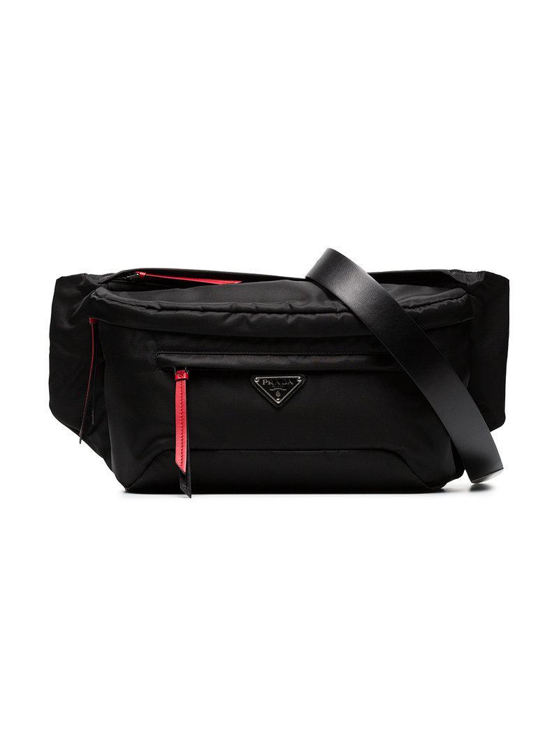 Vela belt bag - Black Prada pwkAJX