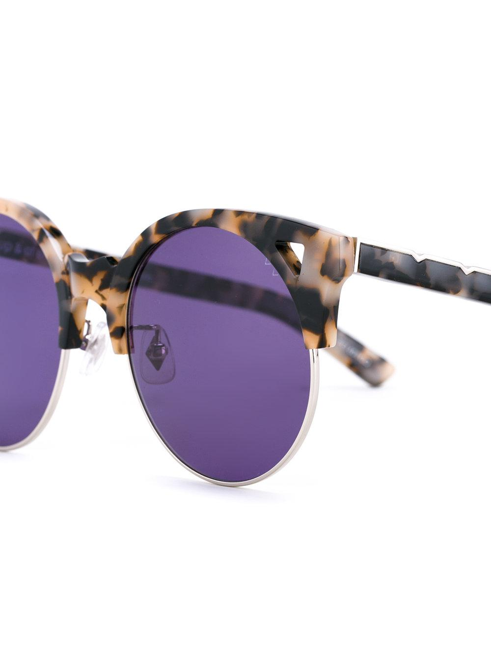 Cookies & Cream sunglasses - Brown Pared Eyewear ZlACHUMo