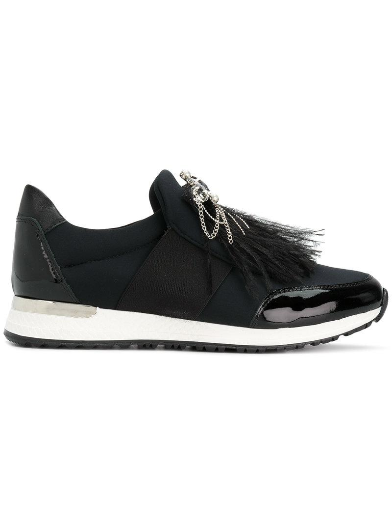 BALDININI Embellished sneakers TxwpyvQX4