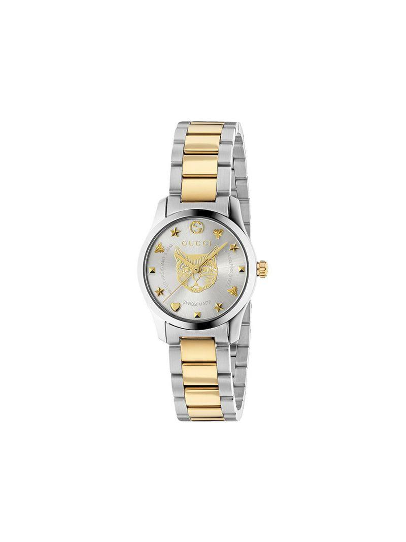 f18b2daa2e6 Gucci. Women s Metallic G-timeless Watch ...
