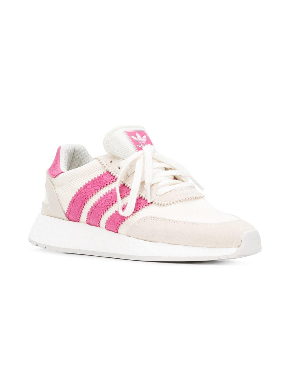 new product 8623d 77551 Adidas - White Originals Iniki I-5923 Runner Boost Sneakers - Lyst. View  fullscreen