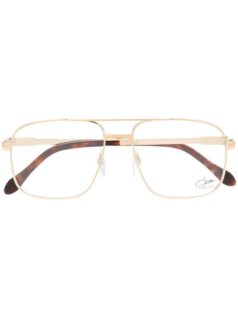d358a18efb8c Cazal Aviator Frame Glasses in Metallic for Men - Lyst