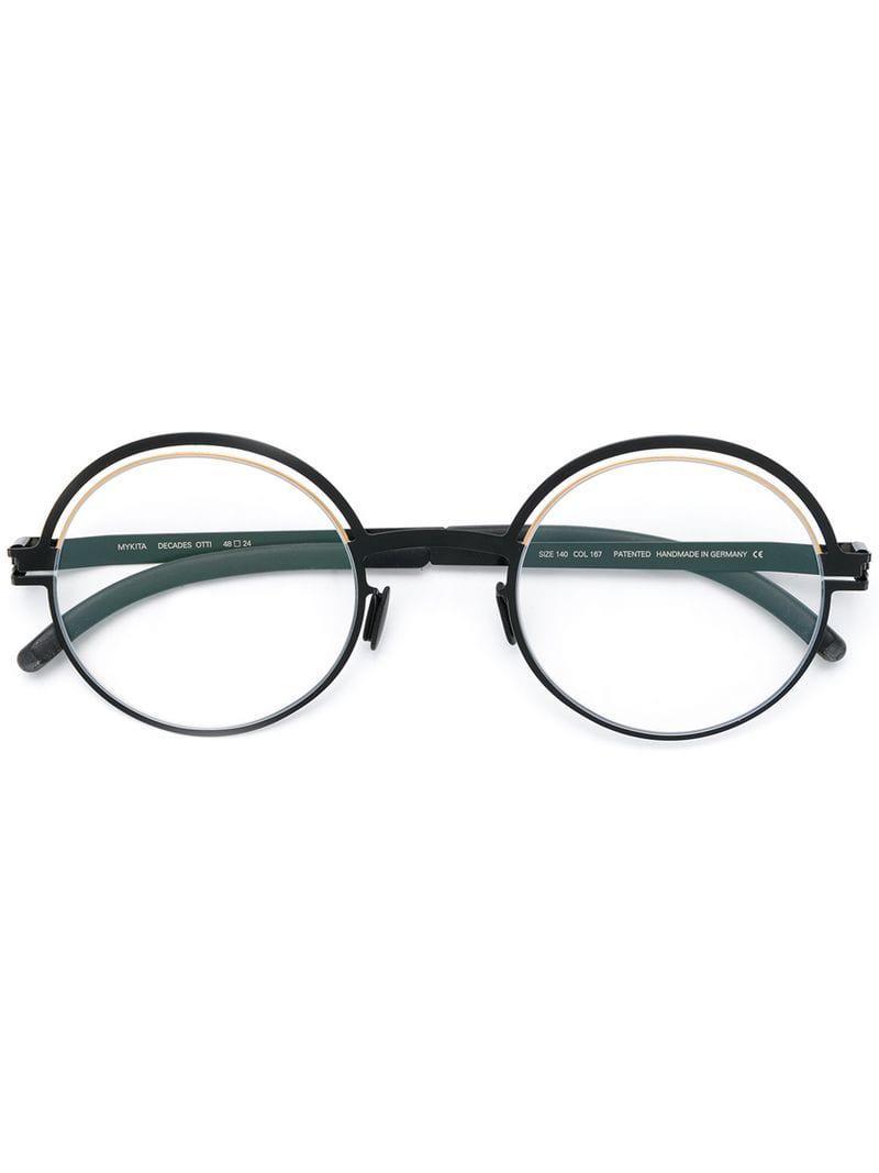 ba84fb239f Mykita Otti Glasses in Black for Men - Lyst