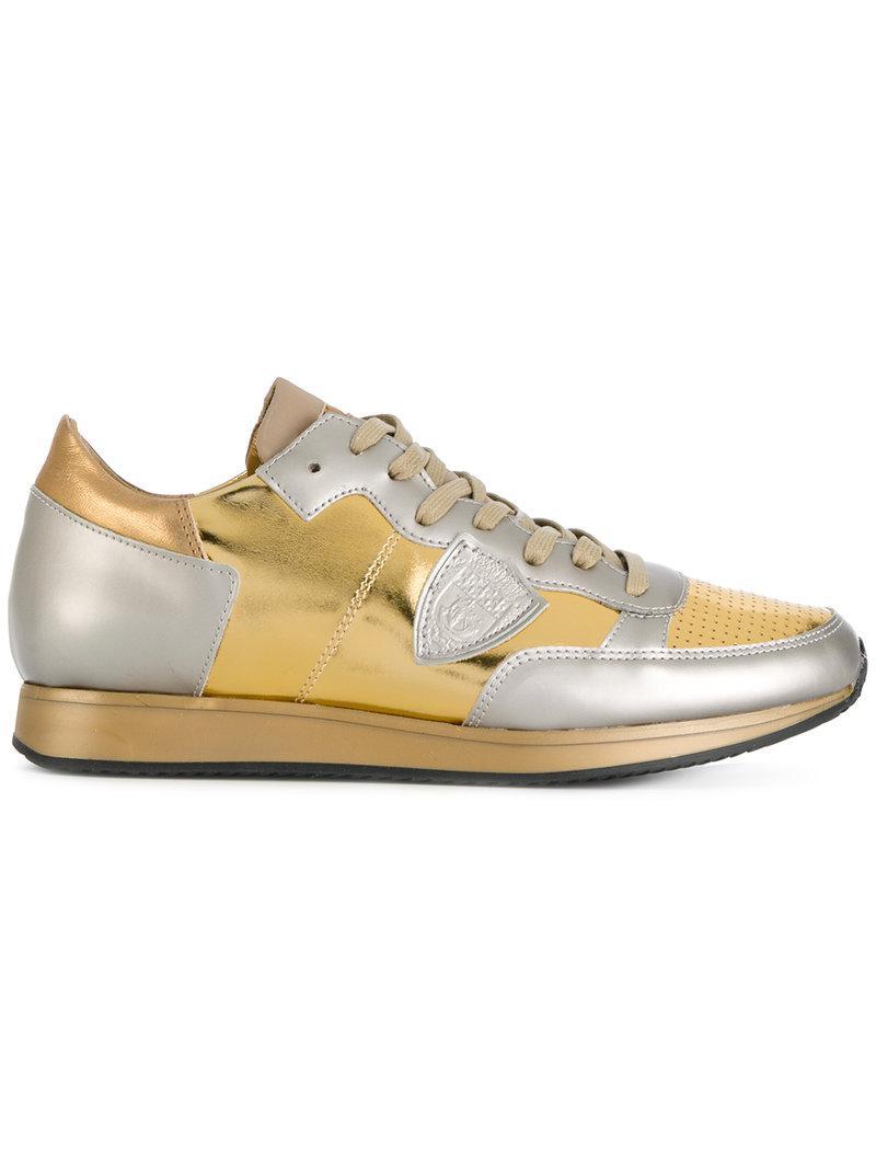 Chaussures De Sport Frequence - Modèle De Philippe Métallique 4opbng7C