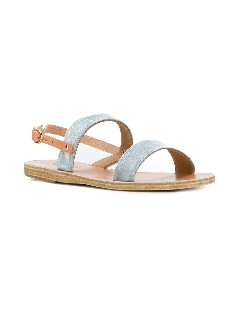 looking for for sale Ancient Greek Sandals Leather Dual-Strap Sandals shop for sale online sale find great outlet hot sale YP9L8k