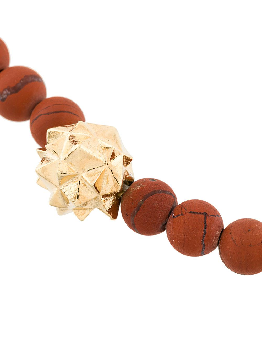Northskull Jasper bracelet - Red oQEDQR