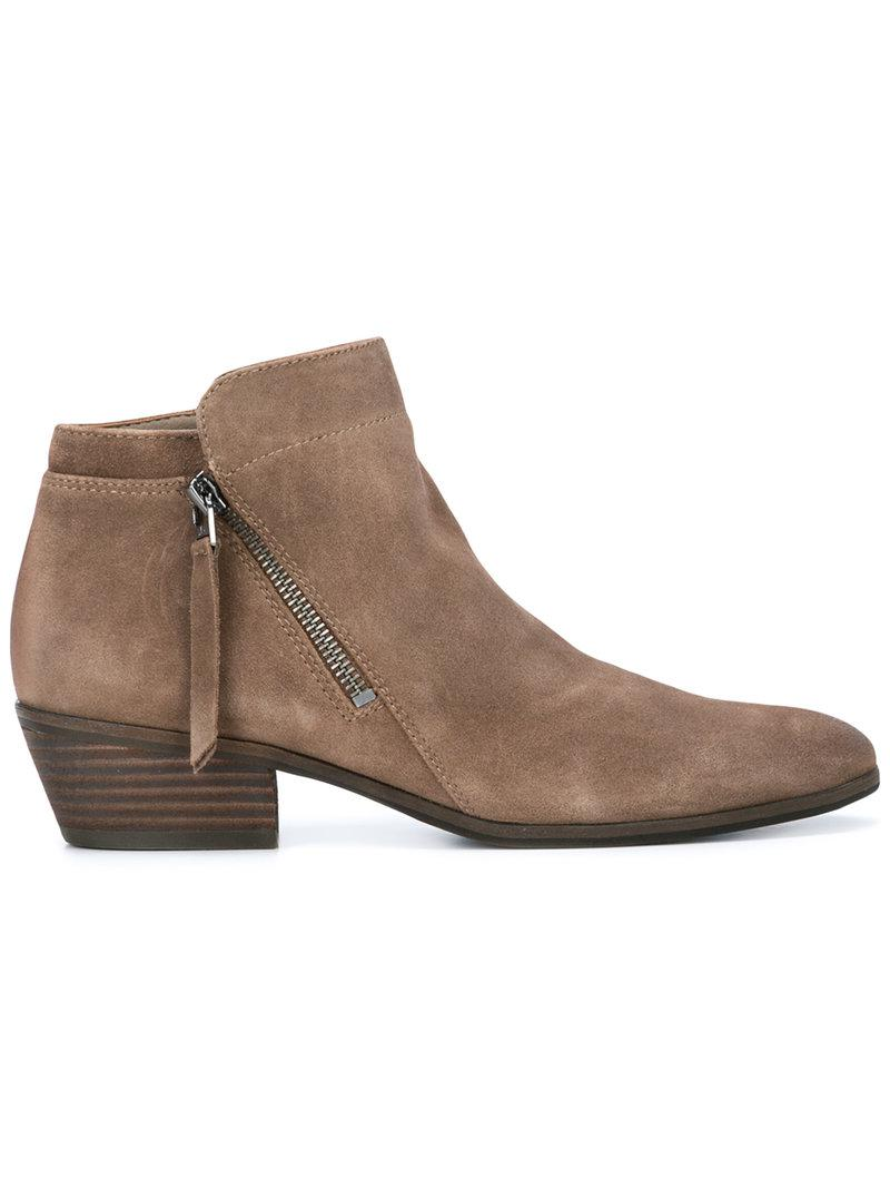 55819feac Lyst - Sam Edelman Ankle Boots in Brown