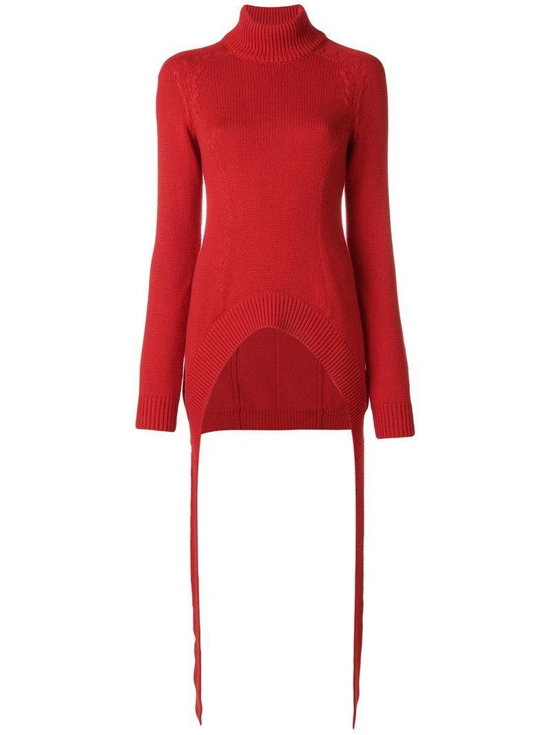 turtle-neck fitted sweater - Red Givenchy Discount Popular nRlReR