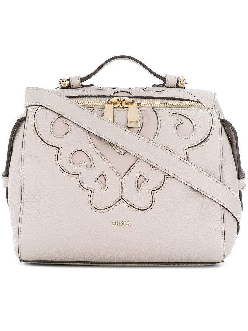 Furla Stitched panel crossbody bag Discount High Quality Perfect Buy Cheap Newest Cheap Pay With Visa Sale For Sale QNRGmqzs2b