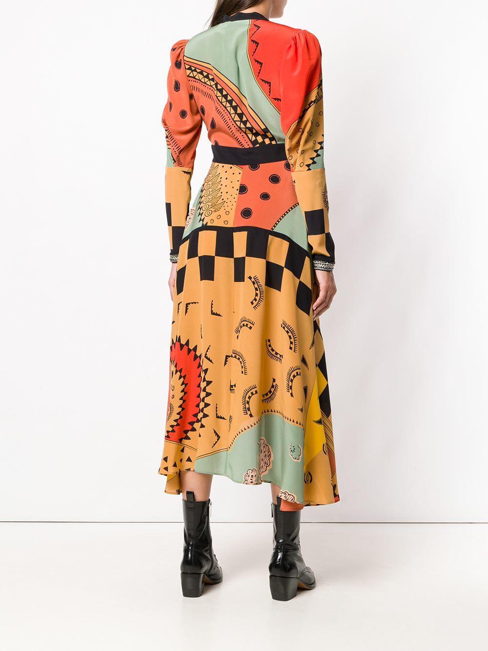 ef4b995dff8 Etro Yuna Dress in Orange - Lyst