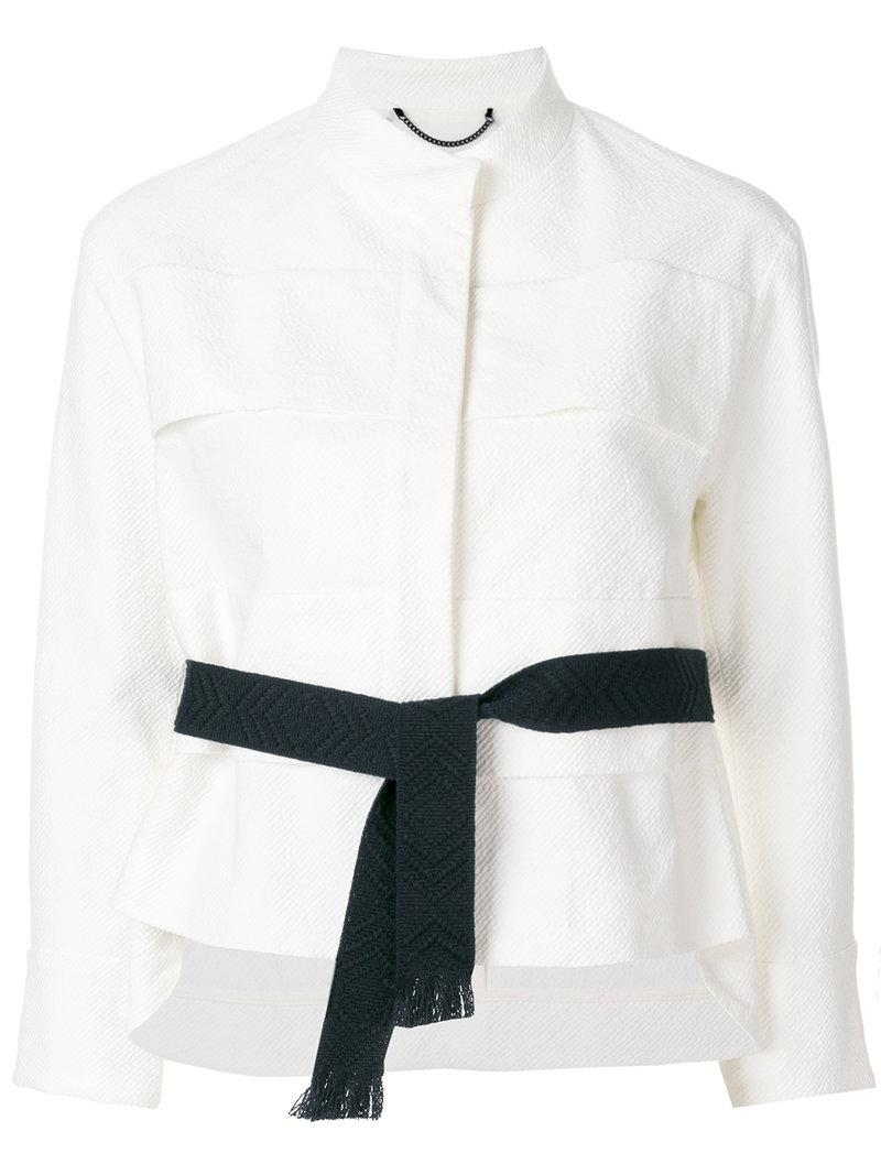 Clearance Best Place Latest Collections For Sale Dorothee Schumacher embellished collar cropped jacket Official Site Sale Online Latest wioqwkHkh5