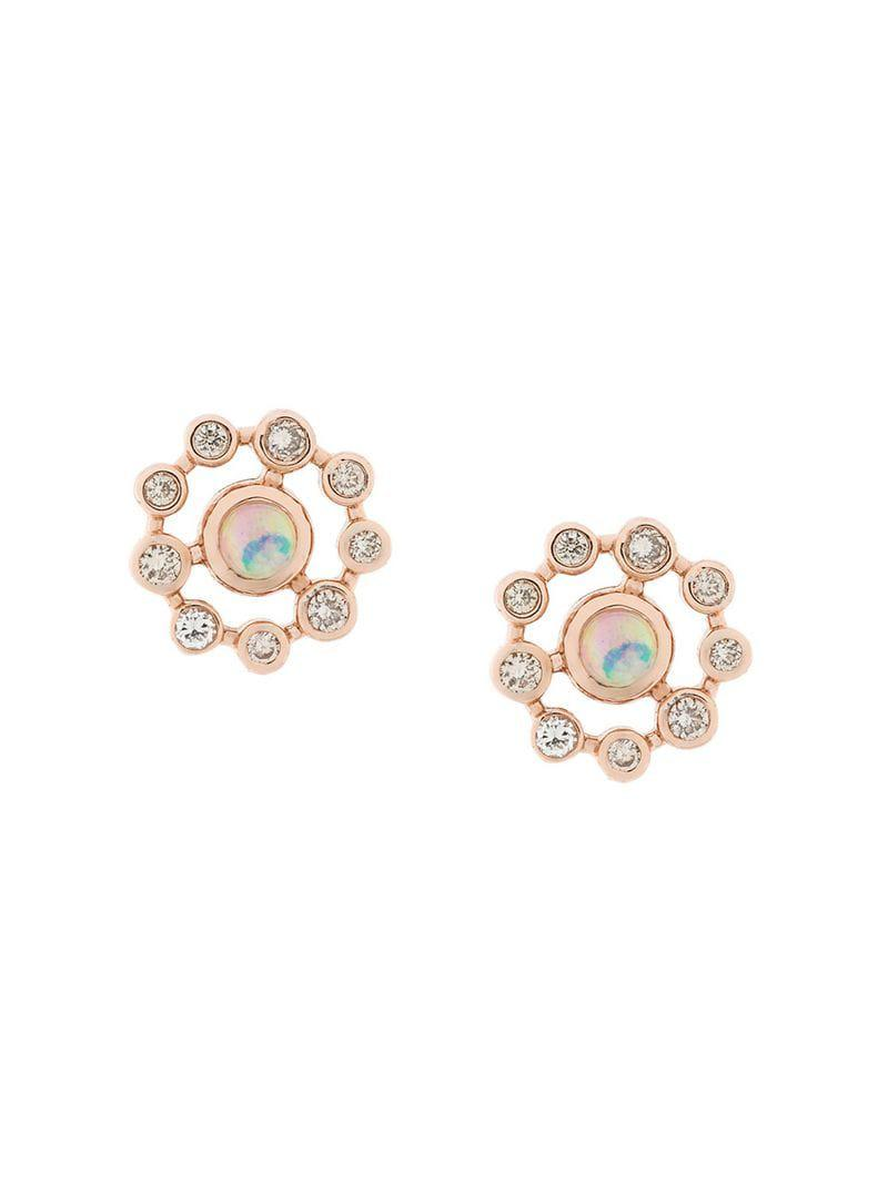 cc1f92faa7bae Lyst - Astley Clarke Icon Nova Opal Earrings in Metallic