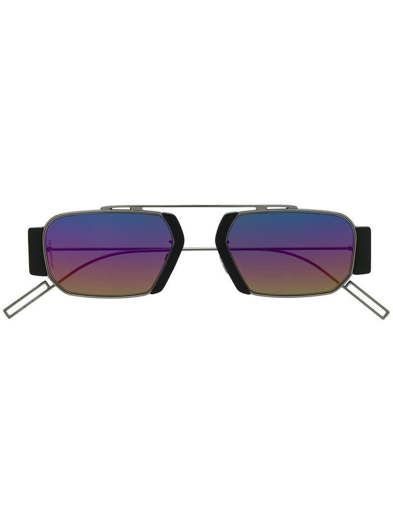 Cromáticas Dior Gafas Y Color De Negro Ovales Lyst Sol trxCshQd
