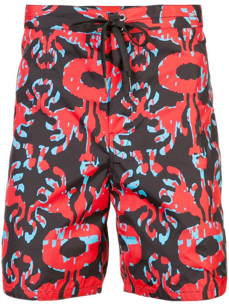 Cynthia Rowley x Garrett McNamara Benny board shorts - Pink & Purple Cynthia Rowley Release Dates Sale Online N3glKi