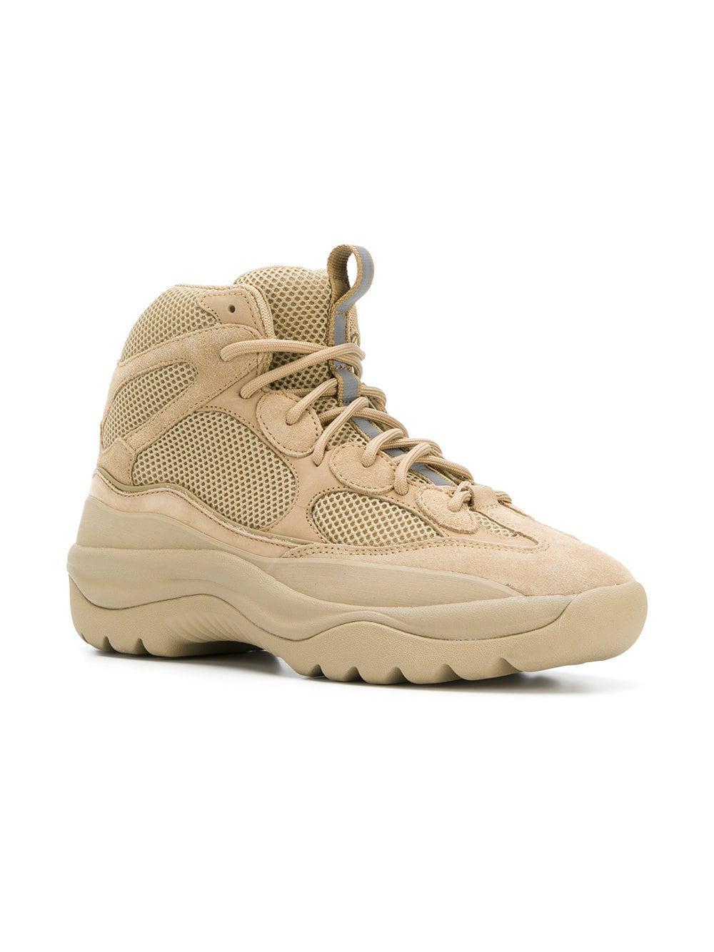 6a3a9229351 Lyst yeezy season desert rat boots in natural for men save jpg 1000x1334 Desert  rat shoes