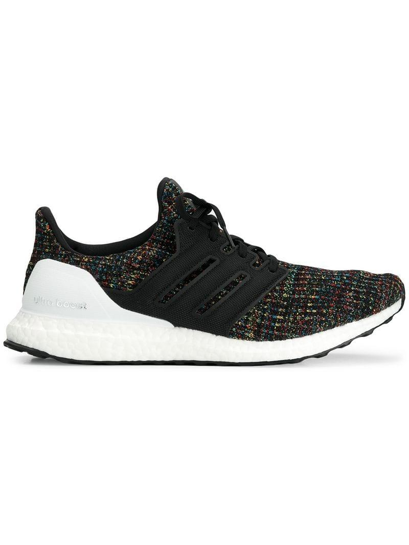 0a3dfb9efe4 Lyst - Adidas Ultraboost Sneakers in Black for Men