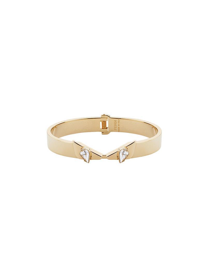 Fendi Baguette bracelet - Metallic 3vwT1Xc