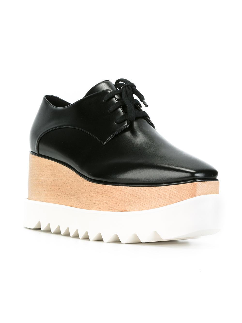 6b92713cc8c2 Lyst - Stella McCartney Elyse Shoes in Black - Save 61%