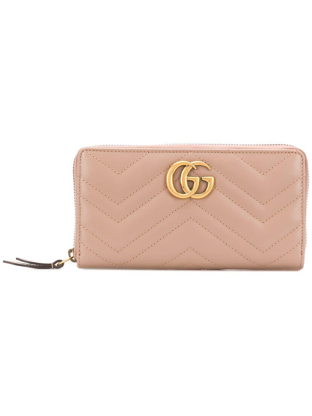 ee3f0fd47bc Lyst - Gucci GG Marmont Purse