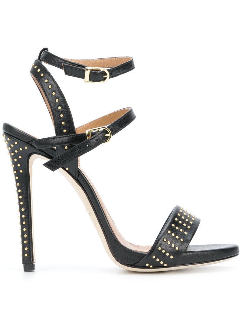 studded buckled sandals - Black Marc Ellis a78sHzmBF