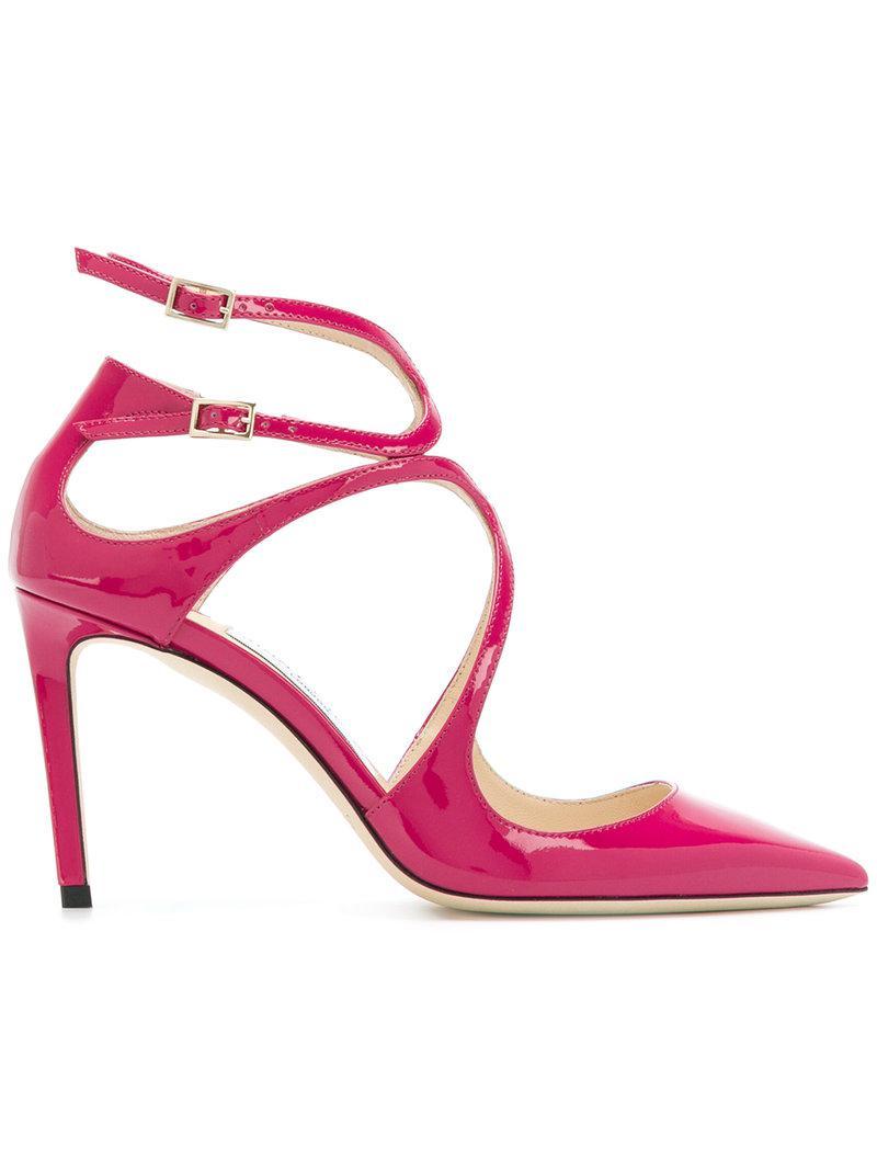 Twinkle 85 pumps - Pink & Purple Jimmy Choo London w7l0RjHkk