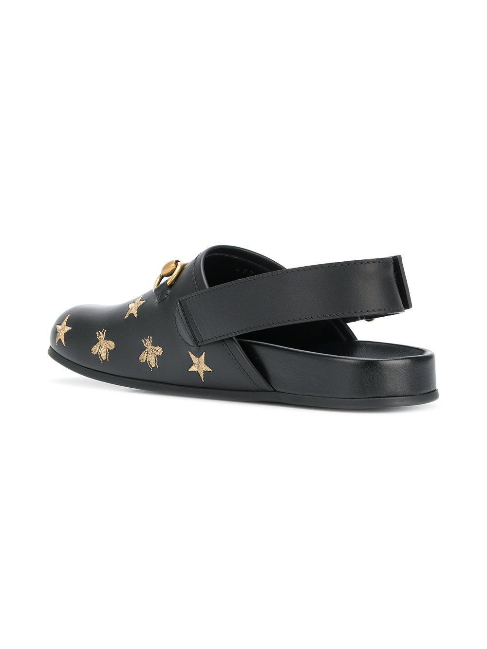 GucciHorsebit embroidered sandals HhNUg