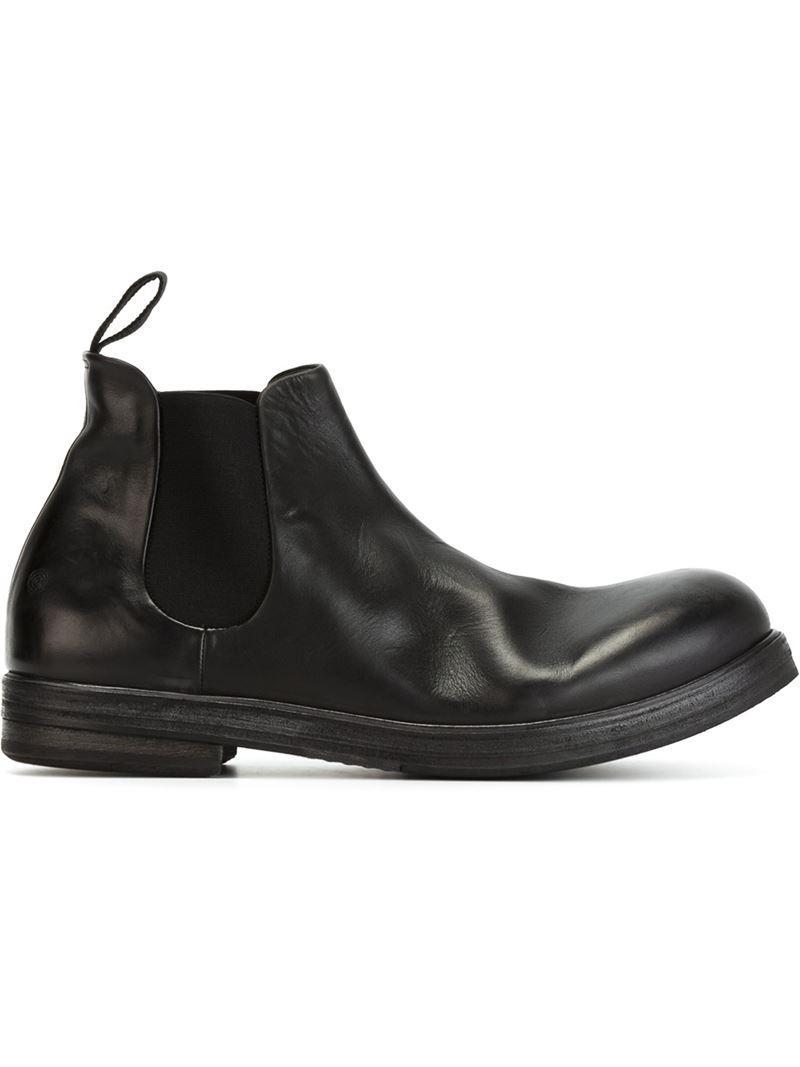 Marsèll. Men's Black Chelsea Boots