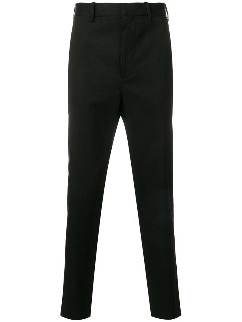 straight leg tailored trousers - Black Neil Barrett iHf1cI4F