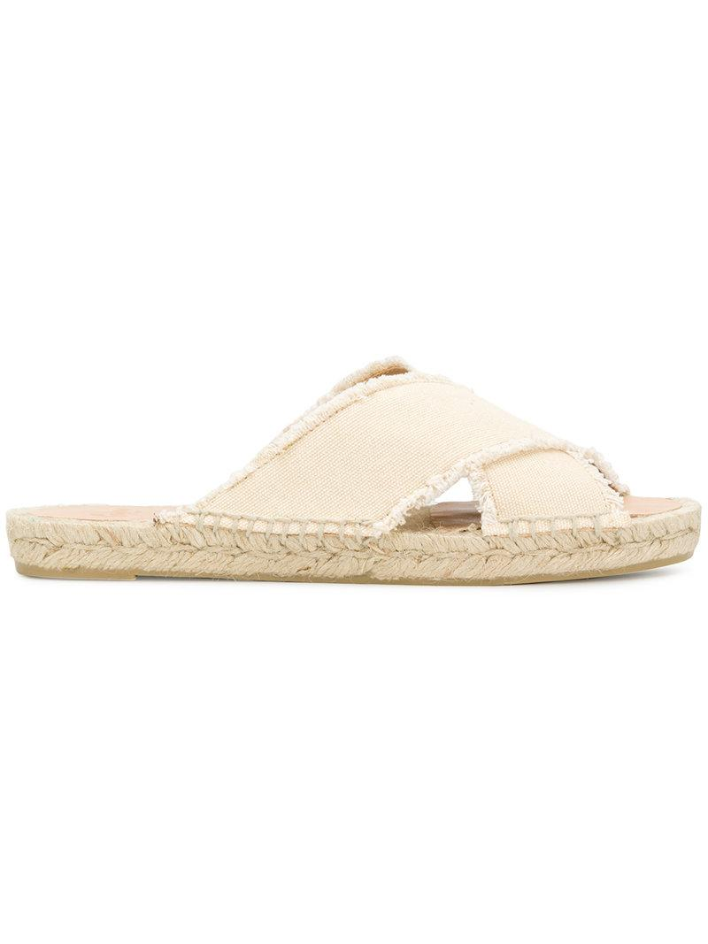 Castaner Palmera Espadrille Slide(Women's) -Dark Blue Cotton Low Price Best Place Sale Inexpensive Free Shipping Hot Sale XaiAT6D