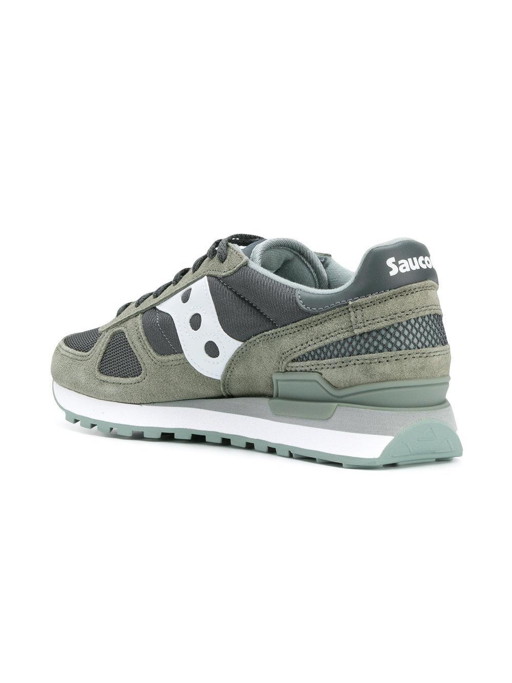 panelled runner sneakers - Green Saucony FchIA65