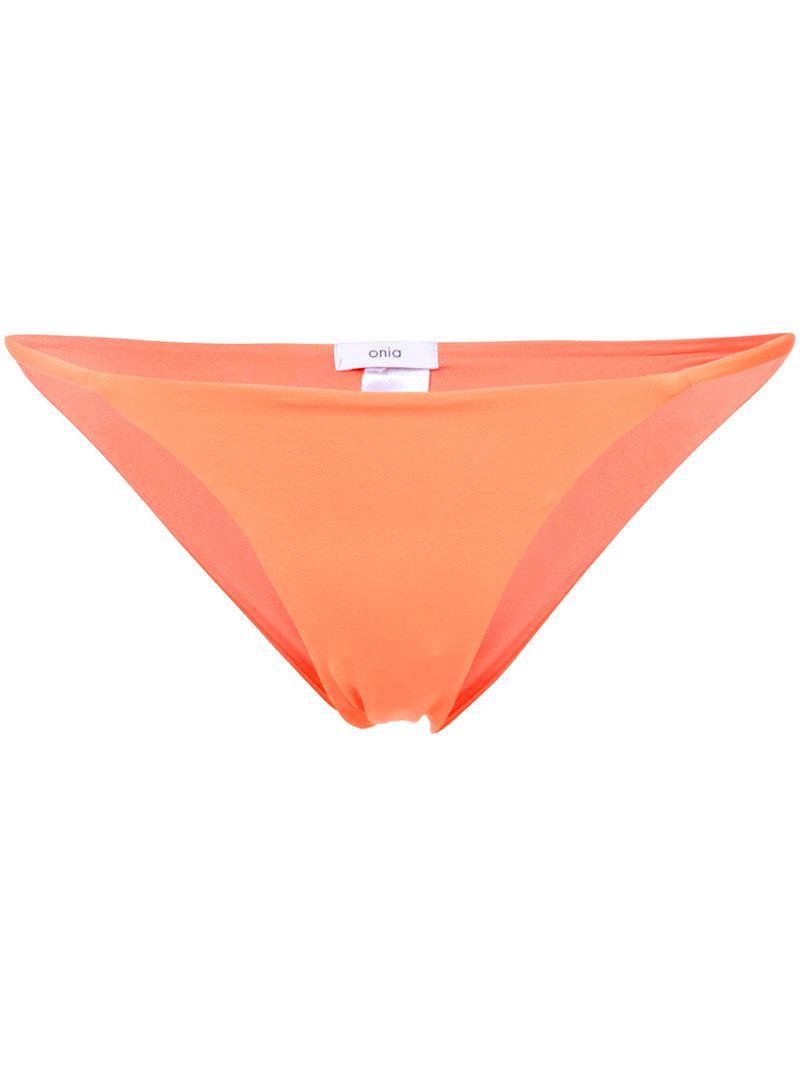 Onia Rochelle Oranges Print Bikini Bottom Acheter Pas Cher Meilleur Fourniture En Vente Obtenir Authentique Vente En Ligne Faux Vente Pas Cher wScvsO5WG